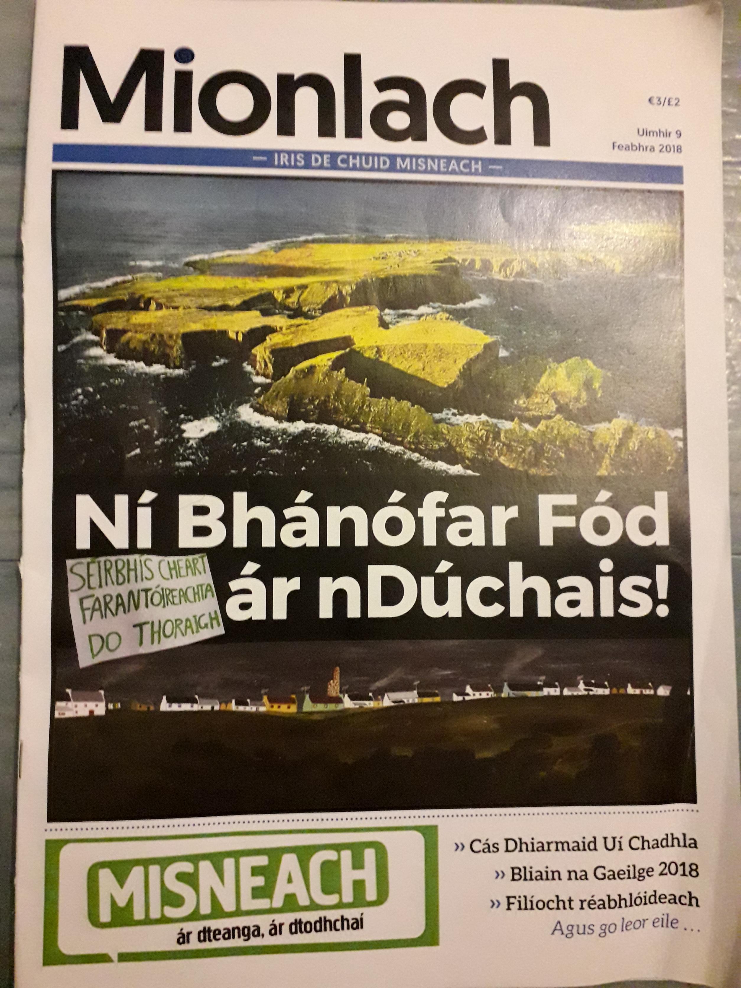 Cludach an irisleabhair